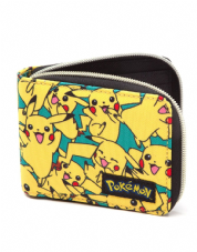 Pikachu Allover Zip Wallet